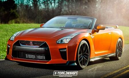 ¿Un Nissan GT-R descapotable? Bastante improbable, pero muy espectacular