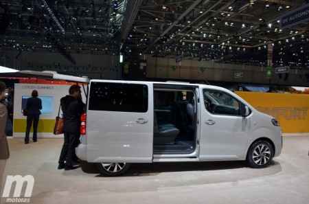 Nuevo Citroën SpaceTourer, enfocado al ocio y uso profesional