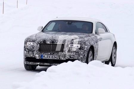 Nuevas fotos espía del Rolls-Royce Wraith facelift