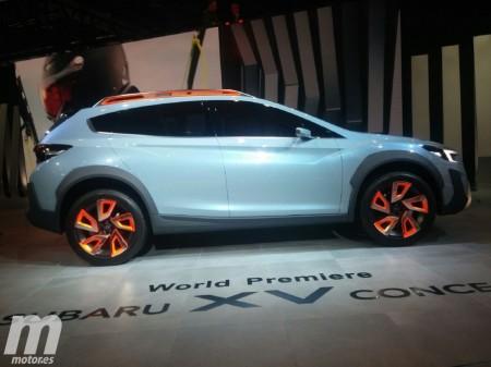 Subaru XV Concept, un prototipo que nos adelanta la próxima generación
