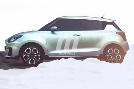 Filtradas las imágenes de los nuevos Suzuki Swift y Swift Sport