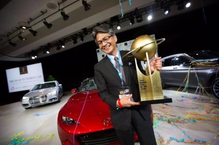 World Car Awards 2016, el Mazda MX-5 se alza como el gran triunfador