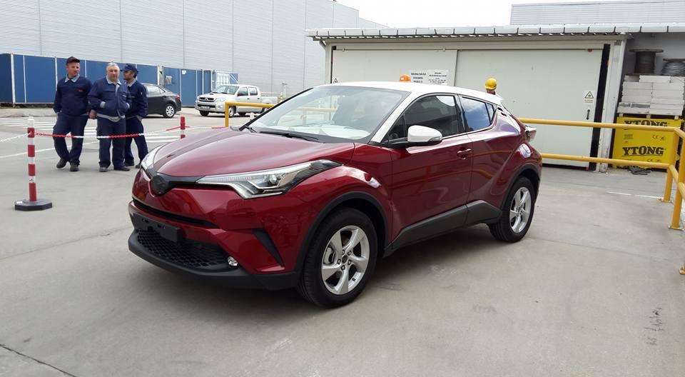 As 237 Es El Toyota C Hr De Producci 243 N