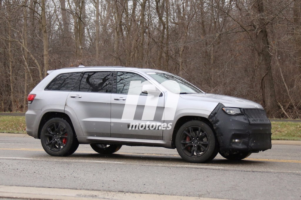 jeep grand cherokee facelift 2017 forocoches. Black Bedroom Furniture Sets. Home Design Ideas