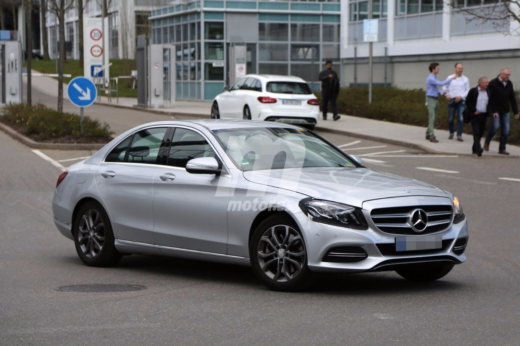 2018 mercedes classe c restyl e w205 s205 for Mercedes benz c 2017