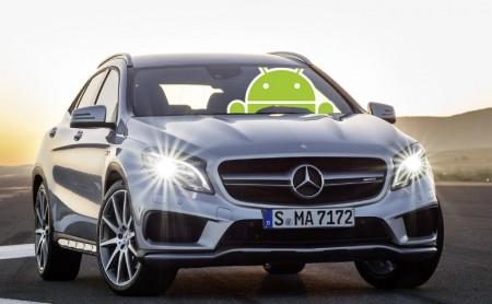 Android Auto también en los modelos de Mercedes-Benz