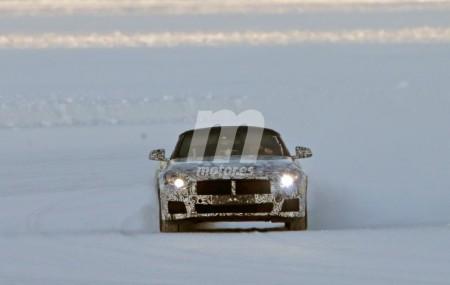 Nuevo BMW Z5: fotos espía desde la nieve