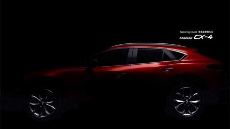 Nuevo adelanto del Mazda CX-4: su presentación será en el Salón de Pekín 2016