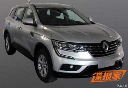 El nuevo Renault Koleos 2016, filtrado al completo