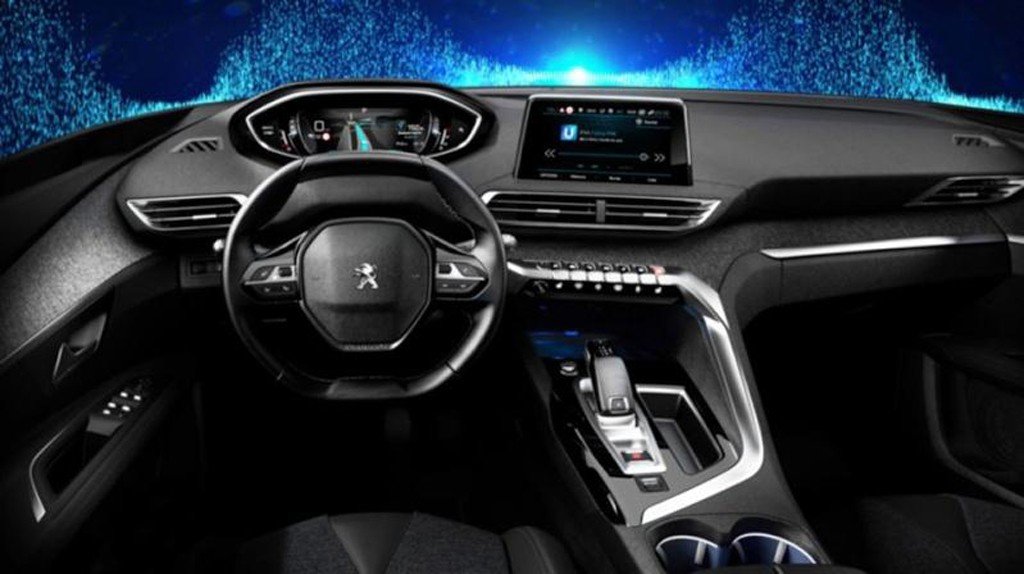 peugeot 3008 2017 las primeras fotos oficiales desvelan su interior. Black Bedroom Furniture Sets. Home Design Ideas
