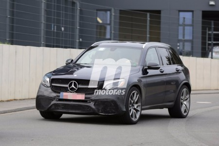 Mercedes-AMG GLC 63, ultimando los detalles de la versión más radical