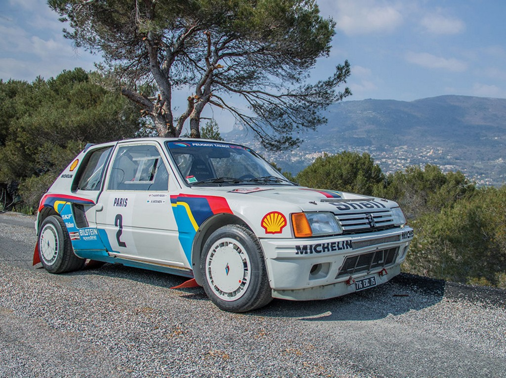 el peugeot 205 t16 de ari vatanen a subasta. Black Bedroom Furniture Sets. Home Design Ideas