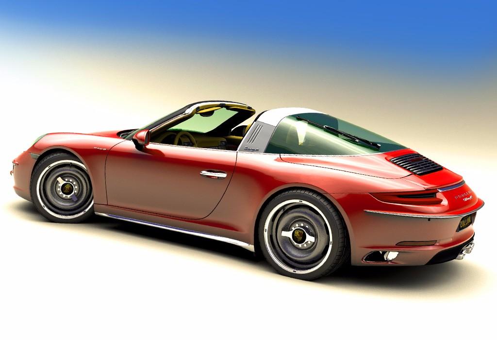 """Zolland Design y su """"brochazo"""" retro para el Porsche 911"""