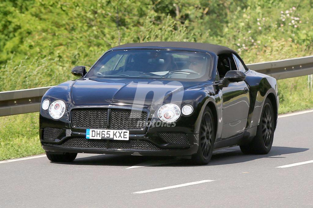 El Nuevo Bentley Continental Gt Cabrio Sale A Pasear Con