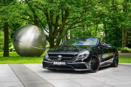 Brabus Mercedes-AMG S 63 Cabrio, 850 CV para el descapotable de cuatro plazas más rápido del mundo