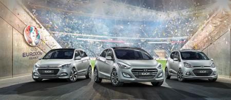 Hyundai GO!: edición especial para los i10, i20 e i30 con motivo de la Eurocopa 2016