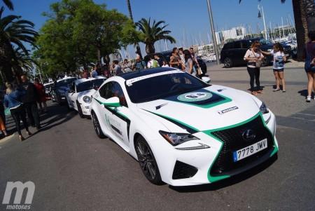 Este Lexus RC F es nuestra montura para la 6to6 Europe Tour 2016