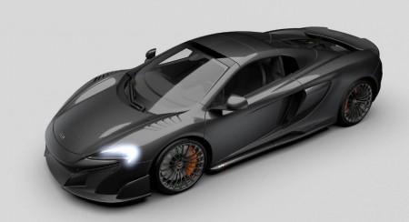 McLaren 675LT Spider Carbon Series por MSO: la fibra de carbono es bella