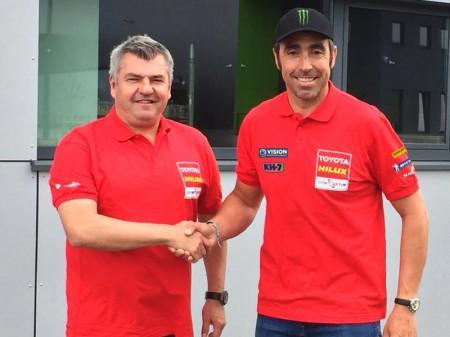 Nani Roma ficha por Toyota y estará en la Baja Aragón