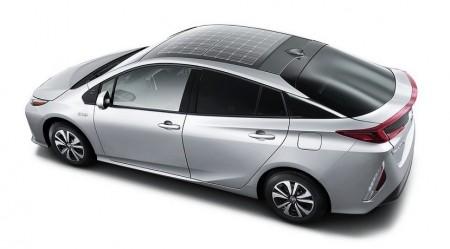El Toyota Prius estrenará paneles solares en el techo en Europa y Japón