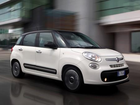 Italia - Mayo 2016: El Fiat 500L logra la plata