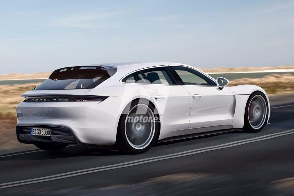Porsche pajun sporttourer imaginando el dise o de la for Porsche ka che