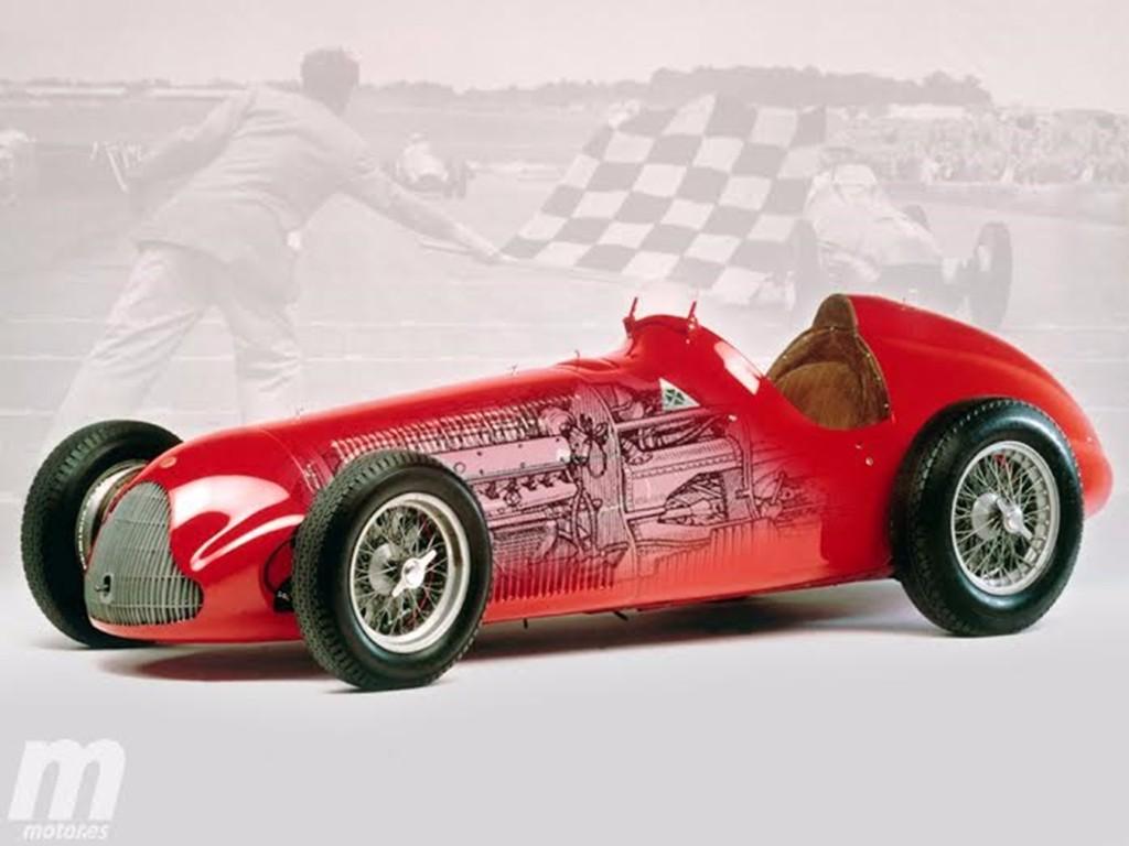 Frmula Vintage Las Mquinas Campeonas De La F1 Alfa
