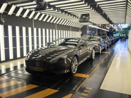 El Aston Martin DB9 se despide de la producción con sus últimas nueve unidades