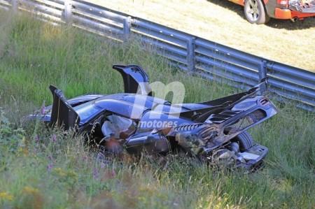 El accidente más caro de Nürburgring: el Koenigsegg One:1 se estrella buscando el récord del Nordschleife