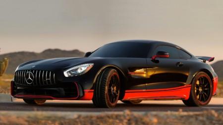 El nuevo Mercedes-AMG GT R se convierte en Drift para 'Transformers 5'