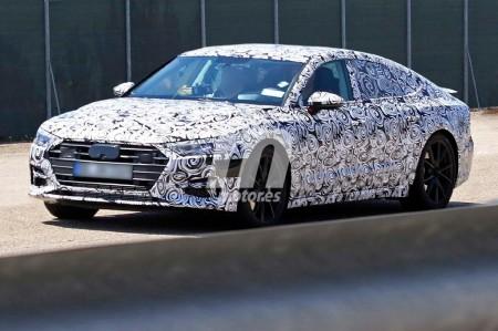 ¿Esperando al nuevo A7? Cazamos el primer prototipo de Audi A7 2018