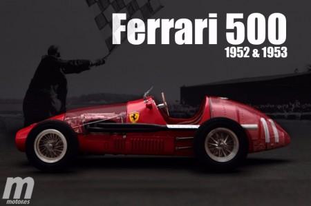 Las máquinas campeonas de la F1: Ferrari 500