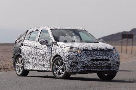 El Mitsubishi XR, primeras fotos espía del nuevo SUV compacto