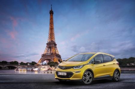 Opel Ampera-e, debut oficial de este eléctrico en el Salón de París 2016