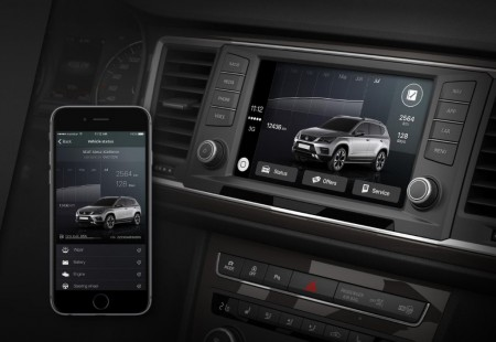 DriveApp, la nueva aplicación de Seat compatible con Apple CarPlay