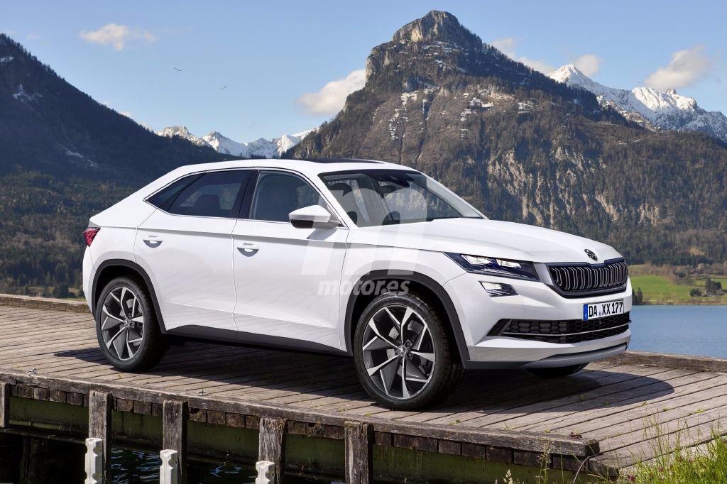 Skoda Kodiaq Coupe y Kodiaq RS, ¿dispondrá el SUV de versiones ...