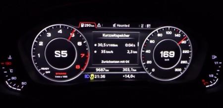 Así es como acelera un Audi A5 2.0 TFSI de 252 CV ¡Brutal!
