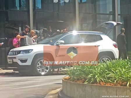 Así es el Jeep Compass 2017 fotografiado al desnudo