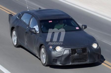 Lexus ultima las pruebas del nuevo LS 2018 en Death Valley