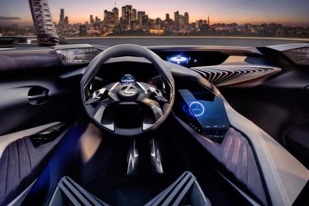 Lexus UX: así es el interior del crossover que veremos en Salón de París 2016