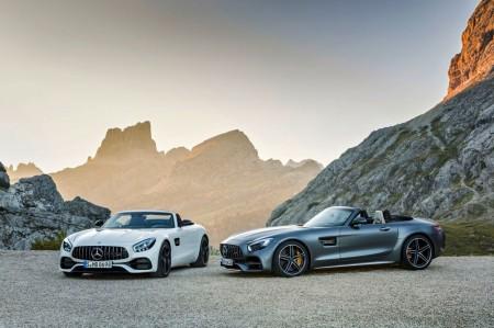 Mercedes-AMG GT Roadster y GT C Roadster 2017: deportividad a cielo abierto