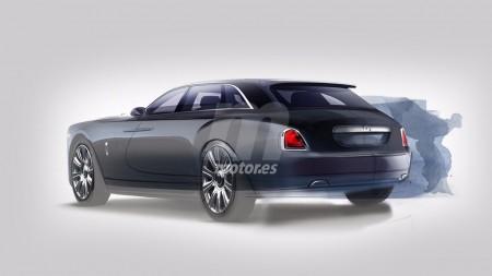 Te adelantamos el diseño del Rolls-Royce Cullinan a través unos bocetos