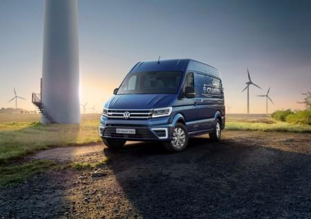 Volkswagen e-Crafter, 200 kilómetros de autonomía para esta furgoneta eléctrica