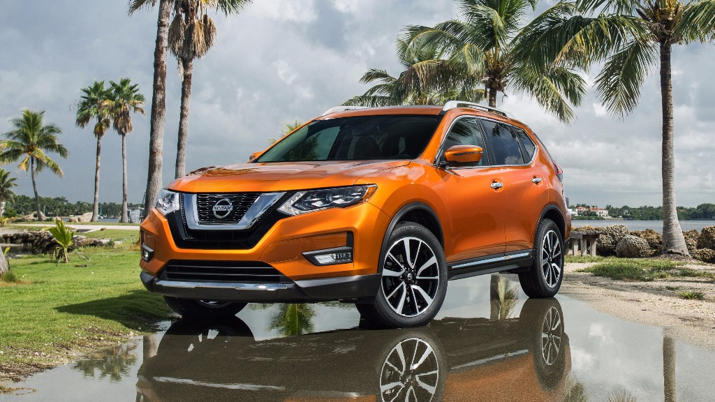 el nissan x trail 2017 se desvela al otro lado del charco. Black Bedroom Furniture Sets. Home Design Ideas