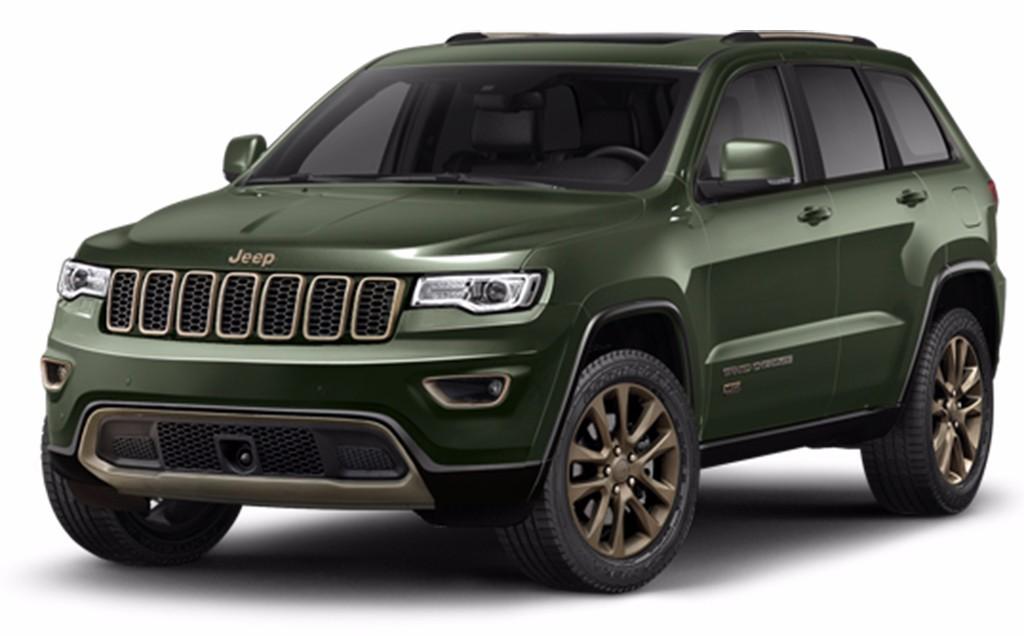 Los precios y modelos de la gama 39 75 aniversario 39 de jeep for Piletas intex precios y modelos