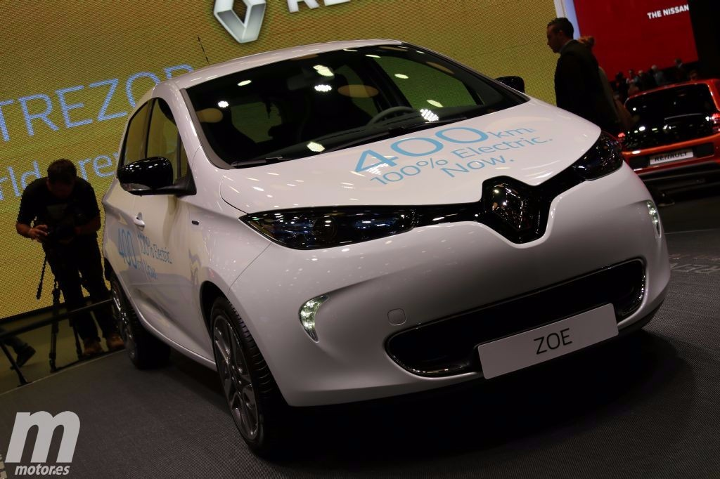 renault zoe 2017 el doble de autonom a el ctrica y nuevos. Black Bedroom Furniture Sets. Home Design Ideas