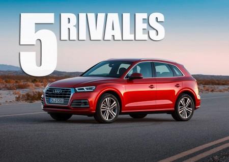 Audi Q5 2017: estos son los 5 rivales a los que tendrá que hacer frente