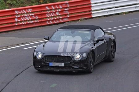 El Bentley Continental GTC 2018 se enfrenta a Nürburgring por primera vez