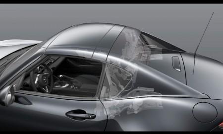 Mazda MX-5 RF: Así es cómo se pliega su fascinante techo rígido en vídeo