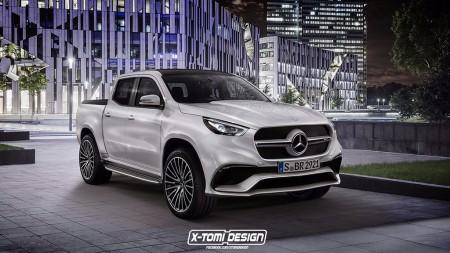 Mercedes-AMG X 63: ¿imaginas una versión AMG del nuevo pick-up de Mercedes?